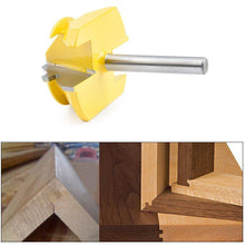 Load image into Gallery viewer, Domom 45 Degree Lock Miter Router Bits