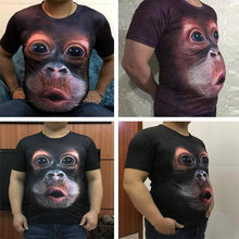 Load image into Gallery viewer, Funny Gorilla 3D T-shirt