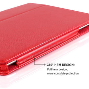 Matte Imitation Leather iPad Cover
