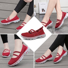 Load image into Gallery viewer, Women's breathable mesh flat shoes
