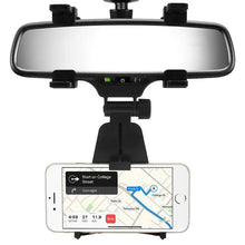 Load image into Gallery viewer, Car Rear View Mirror Phone Holder