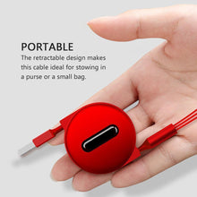 Load image into Gallery viewer, Hirundo 3-in-1 Retractable Charging Cable