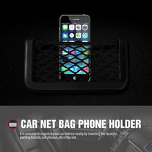 Load image into Gallery viewer, Car String Bag Pocket Storage Organizer