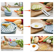 Load image into Gallery viewer, 9 Sets Multi-Function Vegetable Slicer, Blue