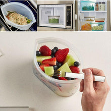 Load image into Gallery viewer, Hirundo Reusable Silicone Food Storage Bags (3 PCs)