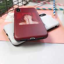 Load image into Gallery viewer, The Girl Silicone iPhone Case