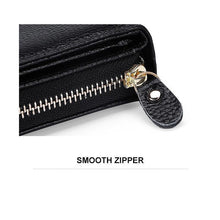 Load image into Gallery viewer, Zippered Multi-Functional Wallet