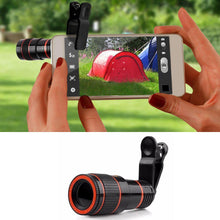 Load image into Gallery viewer, 12X Phone Camera Lens Kit