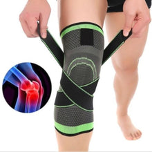 Load image into Gallery viewer, 3D Design Knee Brace With Adjustable Strap For Pain Relief (Single)