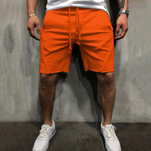 Load image into Gallery viewer, Men Loose Elastic Waist Shorts