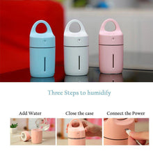 Load image into Gallery viewer, USB Humidifier Air Aroma Diffuser Mist Maker