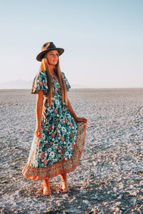 Seafoam Classic Adventure Dress