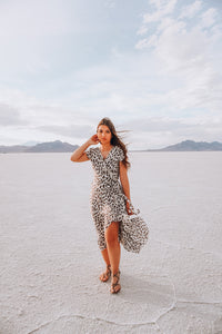 Leopard Petite Adventure Dress