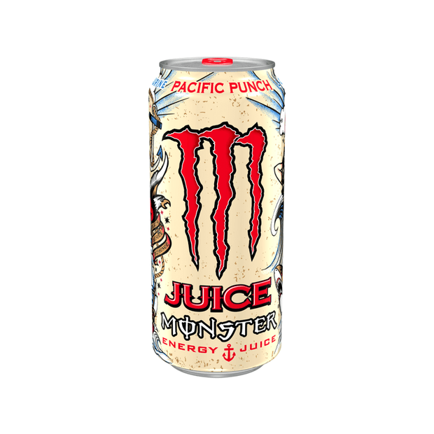 Monster pacific punch energy drink 12x500ml - EssexDrinks