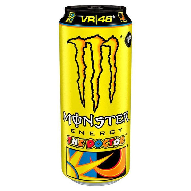 Monster the doctor yellow energy drink 12x500ml - EssexDrinks