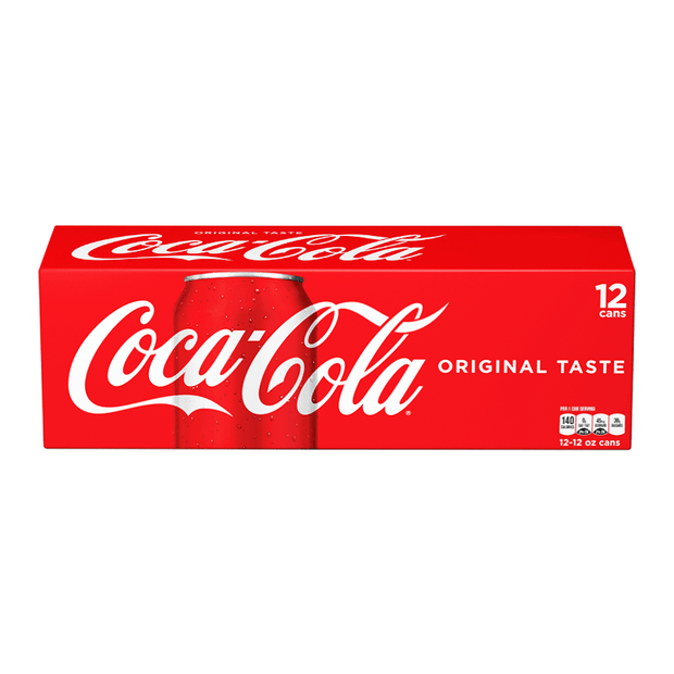 Coca cola original 12x355ml american import - EssexDrinks