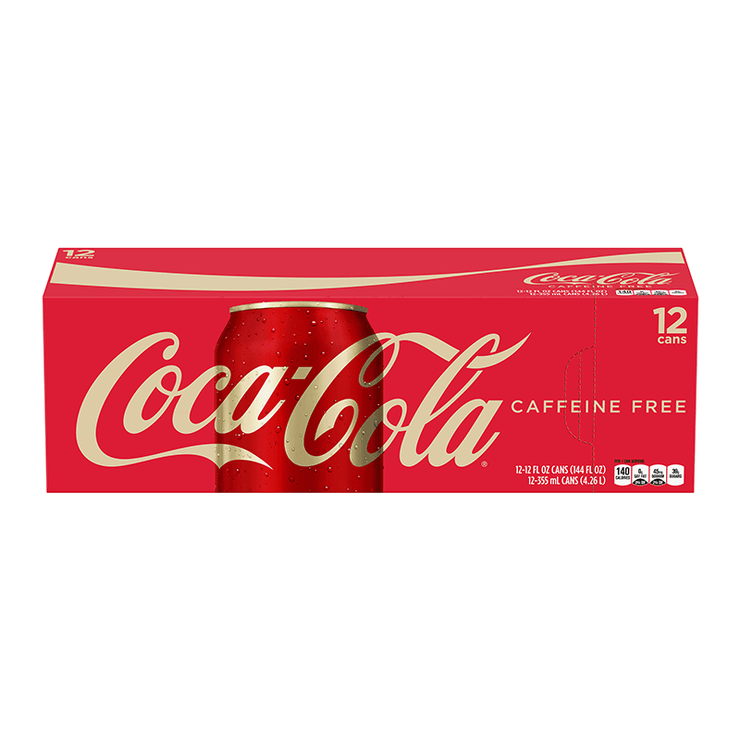 Coca cola Caffeine free 12x355ml american import - EssexDrinks