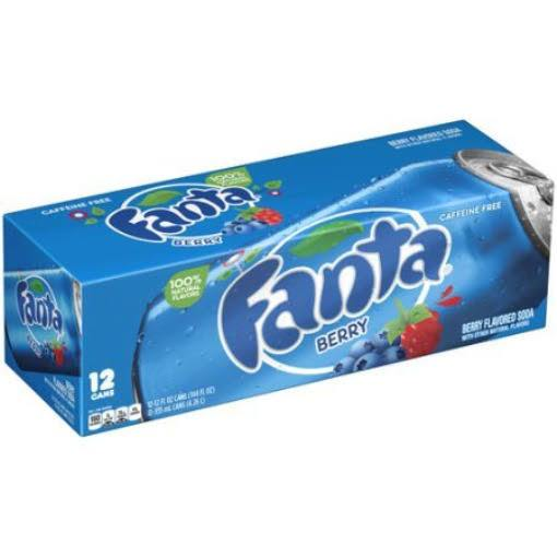 Fanta berry 12x355ml american import - EssexDrinks