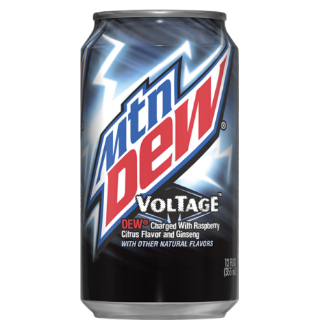 Mountain dew voltage 12x355ml american import