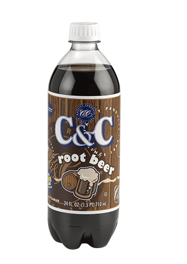 C&C root beer 1x710ml american import - EssexDrinks