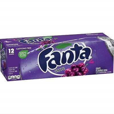 Fanta Grape 12x355ml american import - EssexDrinks