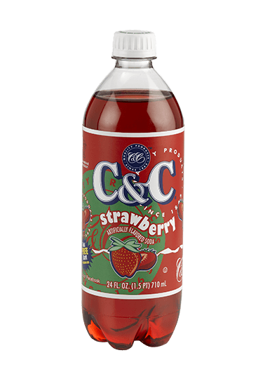 C&C strawberry 1x710ml american import - EssexDrinks