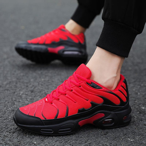 Fashionable Lace Up Men's Air Max Sneakers