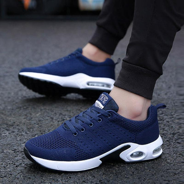 Mesh Lace Up Breathable Men's Sneakers