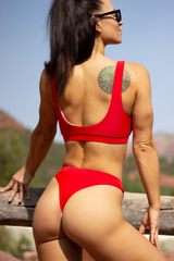 Skinny Dip | Red - Kiora Swim