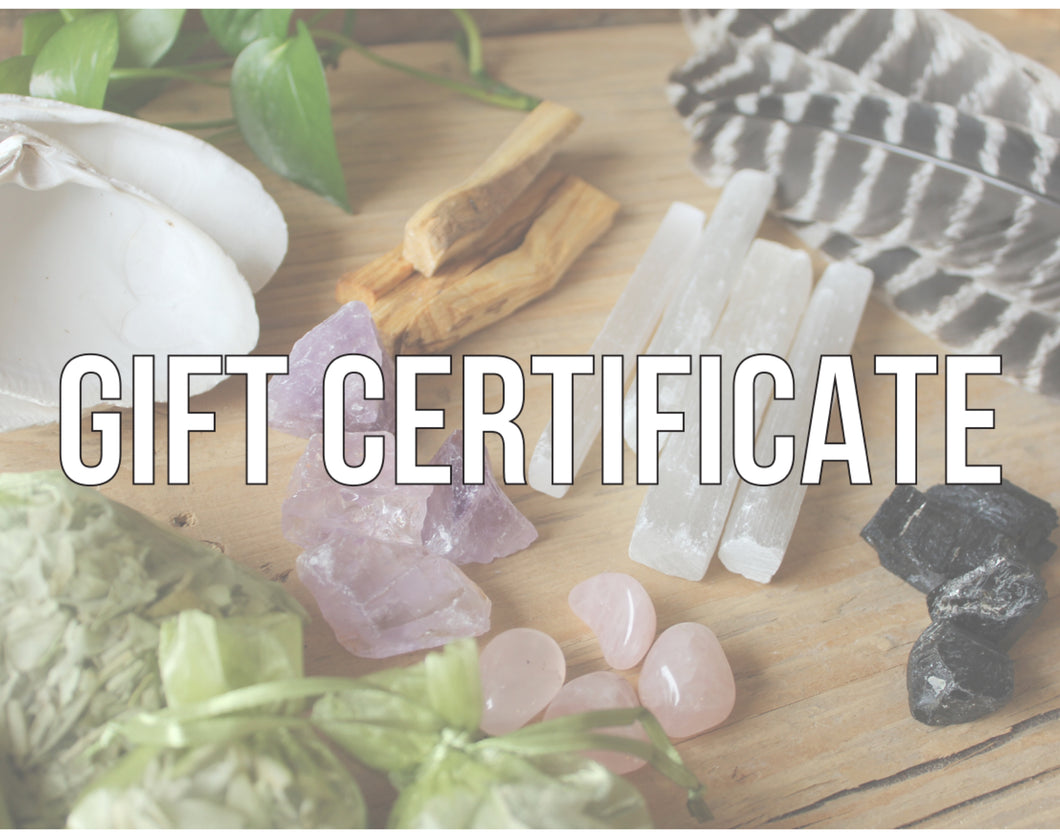 Hawk Moon Gift Certificates