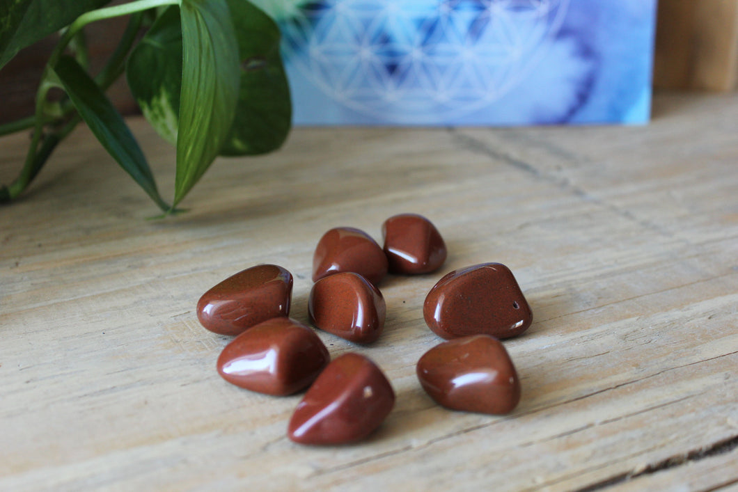 Red Jasper Crystal Gemstone
