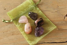 Load image into Gallery viewer, Five Stages of Grief Crystal Healing Set