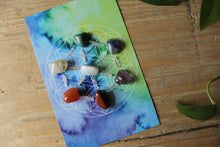 Load image into Gallery viewer, Charka Healing and Balancing Crystal Grid