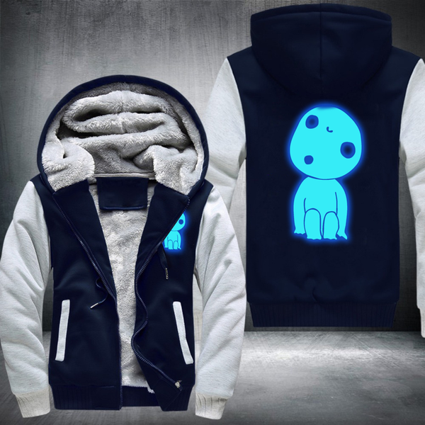 anime related warm hoodies