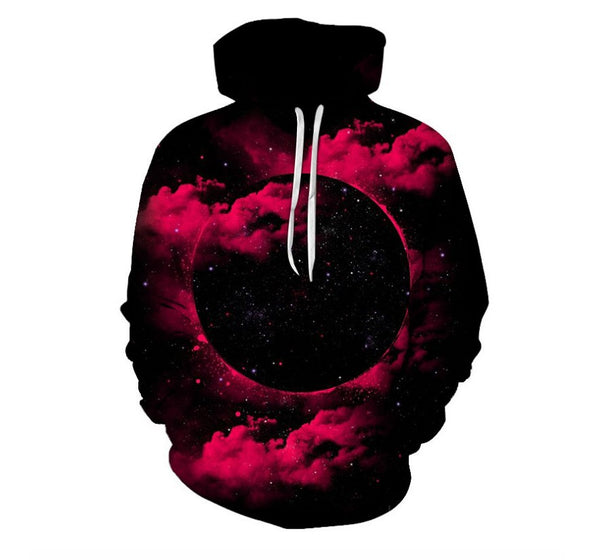 3D Digital Print Strange Night Star Sweatshirt