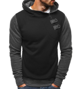 Men's Fleece Thickened Hoodie
