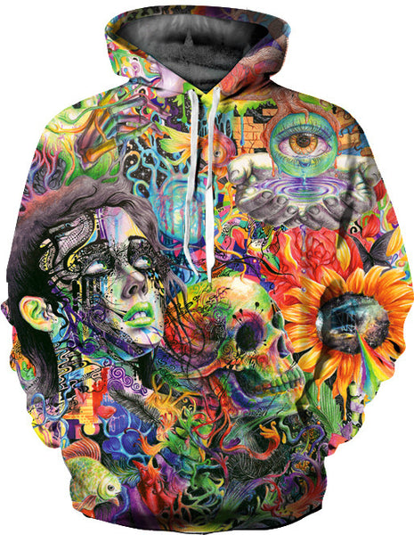 Trippy Abstract Hoodie