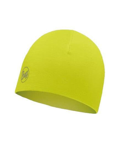 Buff Reversible Microfiber muts Reflective yellow fluor - Damplein 9 SKI & Fashion