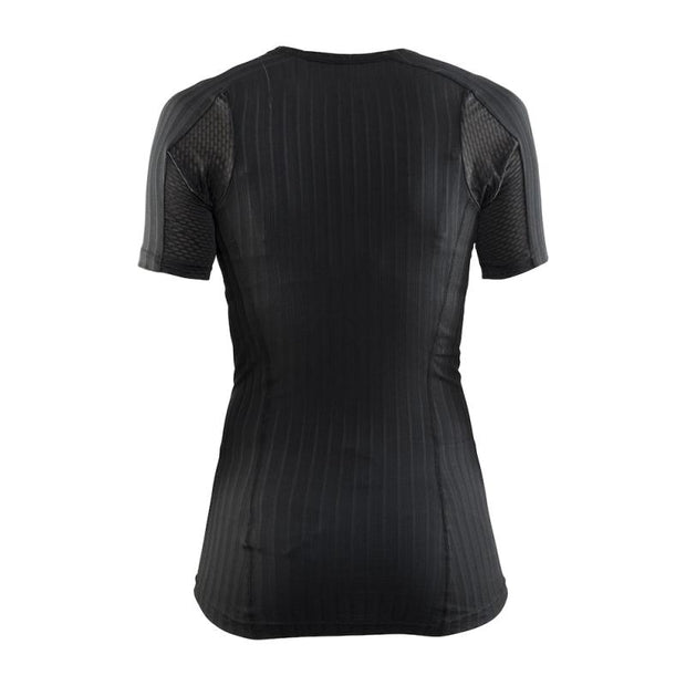 Craft Active Extreme 2.0 dames thermoshirt SS zwart - Damplein 9 SKI & Fashion