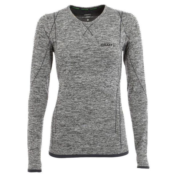 Craft comfort dames thermoshirt grijs melange - Damplein 9 SKI & Fashion