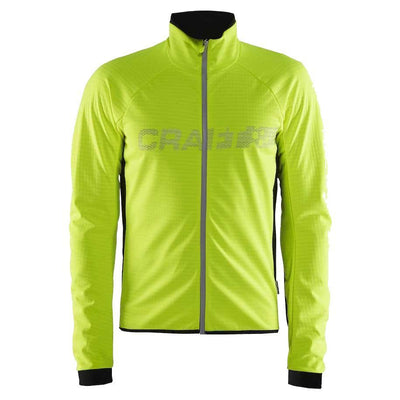 Craft Shield2 jacket fluor geel - Damplein 9 SKI & Fashion