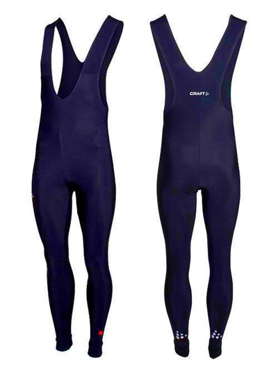 Craft Thermo Collant Schaatsbroek Unisex Donkerblauw - Damplein 9 SKI & Fashion