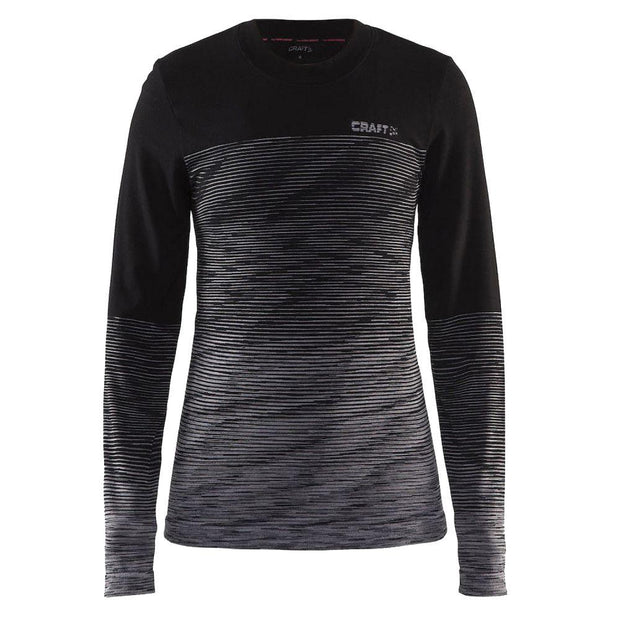 Craft Wool comfort 2.0 dames thermoshirt - Damplein 9 SKI & Fashion