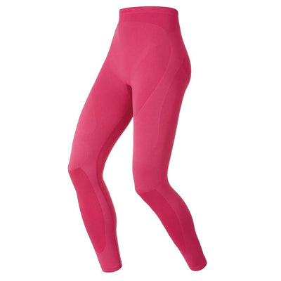 Odlo Performance Evolution warm dames thermobroek rood - Damplein 9 SKI & Fashion