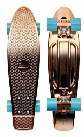 "Penny board 22"" Rose Gold - Damplein 9 SKI & Fashion"