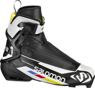 Salomon RS Carbon wit-geel Nordic Schaatsschoenen - Damplein 9 SKI & Fashion