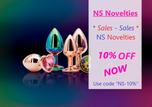 "Check out our best discount for dildos and sectoys created by NS-NOVELTIES: discount 10% with special code ""NS-10%"""