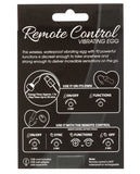 Powerbullet Remote Control Vibrating Egg - Purple