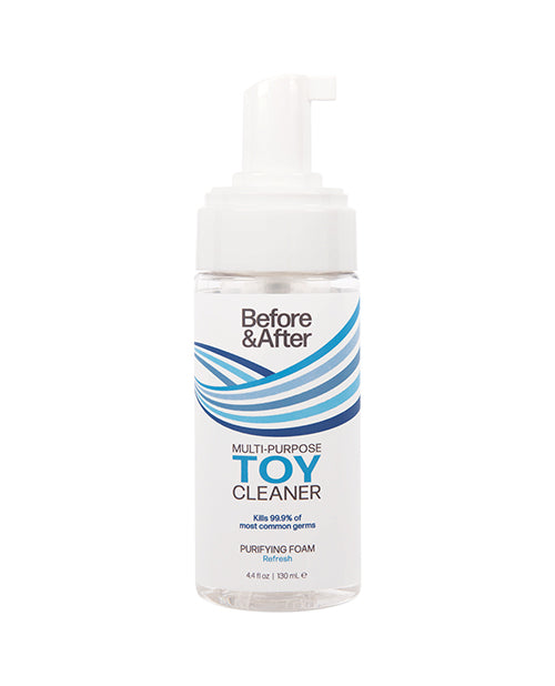Before & After Foaming Toy Cleaner