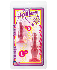 Crystal Jellies Anal Delight Trainer Kit